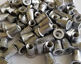 25pcs 1//4-20 LF Steel Rivet Nut Rivnut Insert Nutsert