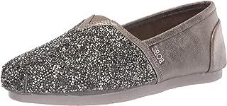 Skechers Womens 32875 Luxe Bobs - Chunky Rhinestone Slip on W Memory Foam