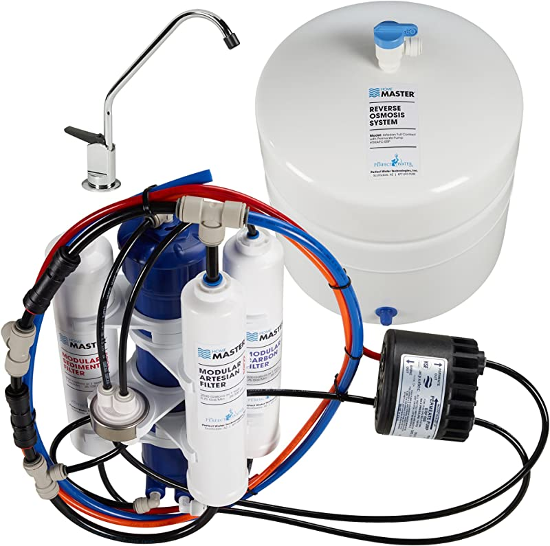 Home Master TMAFC ERP Artesian Full Contact Undersink Reverse Osmosis Water Filter System