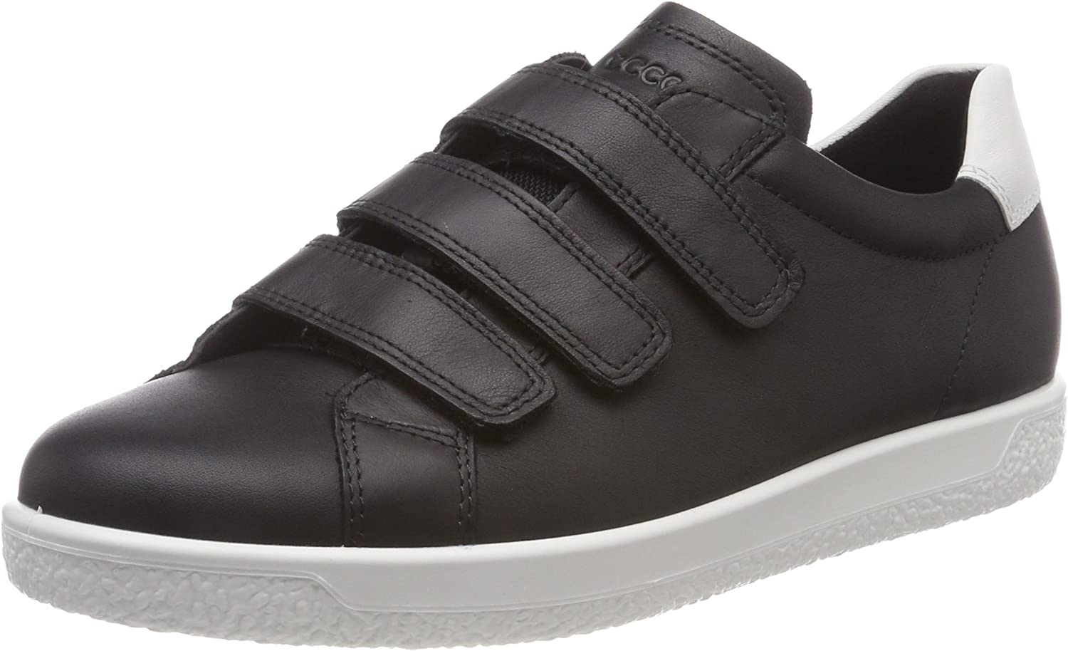 ECCO shoes Women's Soft 1 Three Strap Fashion Sneakers