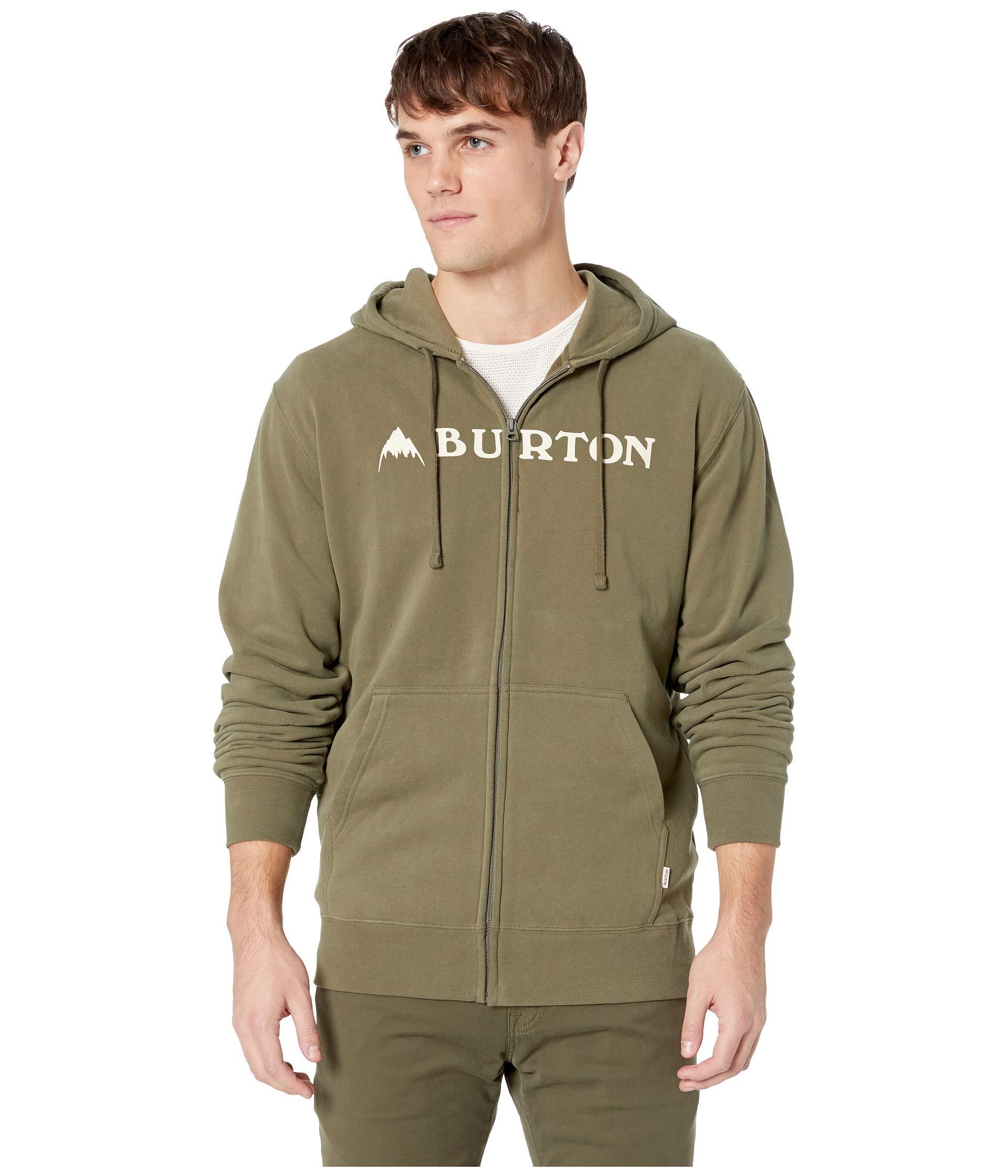 Horizontal Dusty Full Mountain Burton Zip Olive Hoodie Sw7d0qxEX