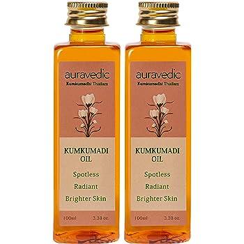 Auravedic Kumkumadi Oil, 100ml (Pack Of 2)…