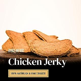 Chicken Jerky - 1000g   Hühner Filets aus 100% Huhn   Leckere, Perfekte, schonend Getrocknete Trainingssnacks für Hunde