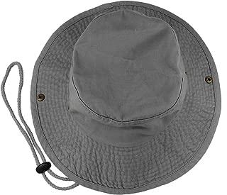 100% Cotton Stone-Washed Safari Booney Sun Hats