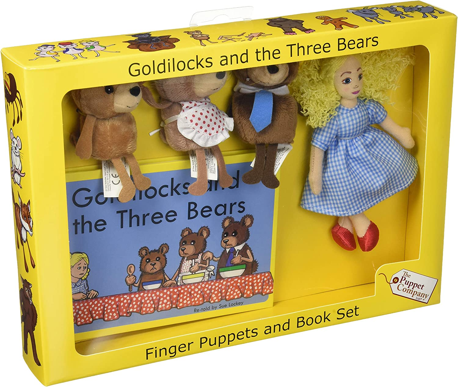 The Puppet Company - Traditional T Story Goldilocks Rapid rise Sets Discount mail order