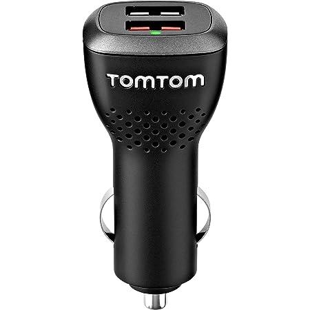 Tomtom Duales Usb Auto Schnellladegerät Geeignet Für Alle Tomtom Navigationsgeräte Z B Start Via Go Basic Go Essential Rider Go Professional Go Camper Navigation