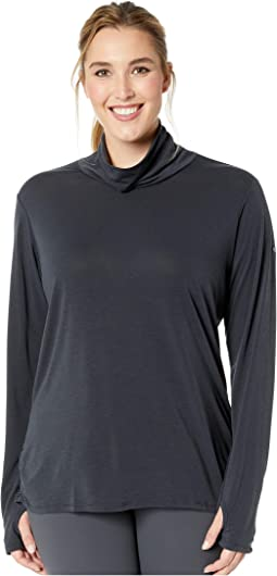 Plus Size Take It Easy™ Long Sleeve Tee