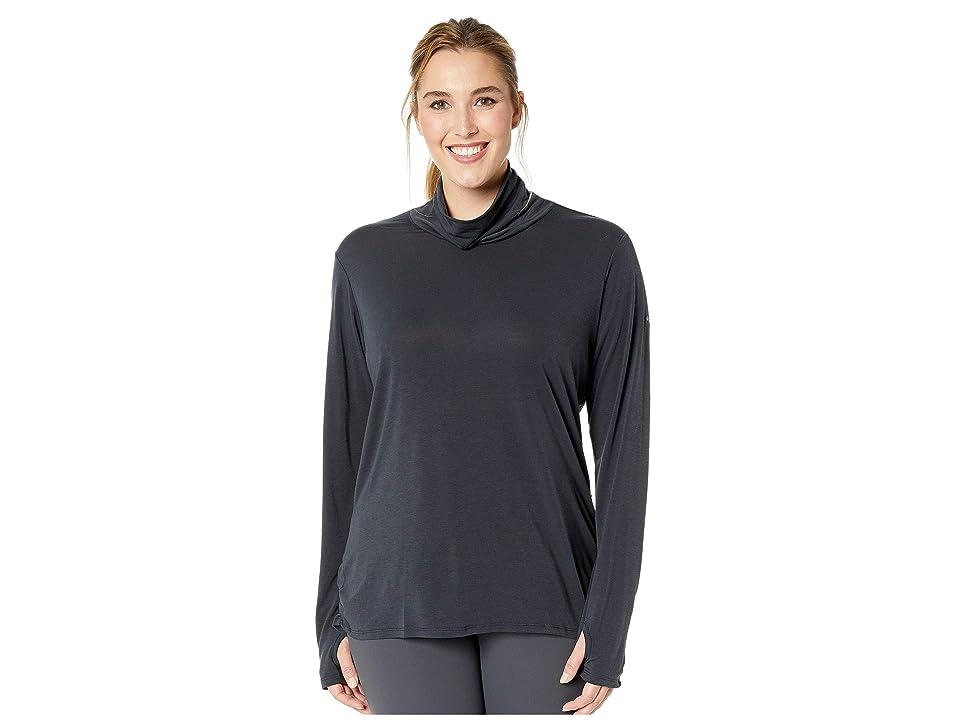 Columbia Plus Size Take It Easytm Long Sleeve Tee (Black) Women
