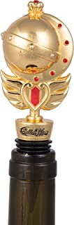 Sailor Moon Decorative Scepter Wine Stopper - Heavy Duty Metal Fits Any Bottle - Novelty Gift for the Anime Fan - Officially Licensed