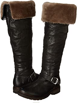 Black Antique Soft Vintage/Shearling