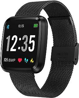 comprar comparacion novasmart - Reloj inteligente runR III con correa inteligente y pantalla en color, con registro de frecuencia cardíaca y p...