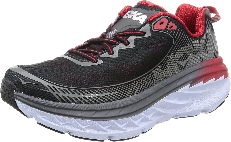 Hoka One One One herr Bondi 5 springaning skor, grå - 7.5 D (M) US  trendig