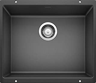 BLANCO 513428 Kitchen Sink Precis Large Bowl-Anthracite