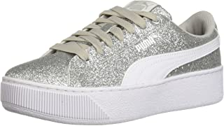 PUMA Kids Vikky Platform Glitz Jr Sneaker