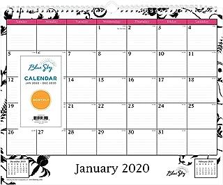 blue sky monthly calendars
