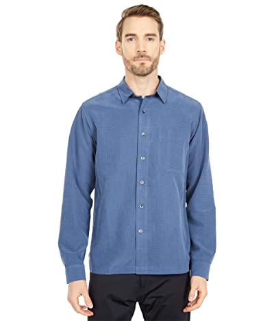 Royal Robbins Desert Pucker Dry Long Sleeve (Collins Blue) Men
