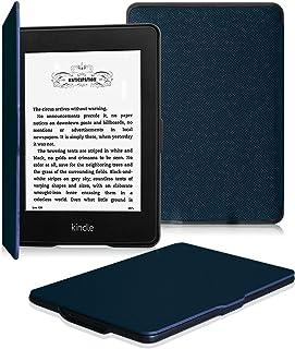 Fintie for Kindle Paperwhite ケース 超薄 軽量 保護カバー オートスリープ機能付き (Kindle Paperwhite 第5世代、第6世代、第7世代、マンガモデル 専用)【Kindle Paperwhite Newモデル 第10世代 2018に適応できない】(ネイビー)