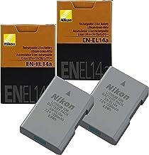 2-Pack NikonEN-EL14A Rechargeable Li-Ion Battery for...