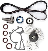 ECCPP Timing Belt Water Pump Kit for 1999-2010 Hyundai Sonata Tucson Tiburon Santa Fe Kia Sportage Optima 2.5L 2.7L V6 DOHC 24V G6BA G6BV DELTA