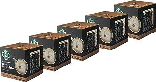 Starbucks Nescafé Dolce Gusto Latte Macchiato Lot de 5 boîtes de 12 Capsules de café