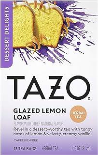 Tazo Dessert Delights Tea Glazed Lemon Loaf, 15 Tea Bags