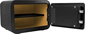 Cannon Safe E913-CPAN-17 Edge Mini Personal Safe by Cannon, Black