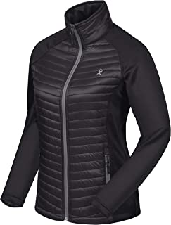 Little Donkey Andy Women's Insulated Jacket, Thermal Hiking Hybrid Jacket, Lightweight, Warm and Breathable