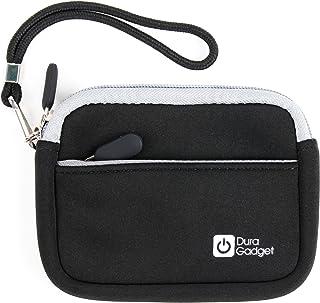 DURAGADGET Estuche De Neopreno Negro para Inspiration Works Peppa's Smart Watch/Soundbrenner Pulse/Suunto Traverse Alpha/Tencent PQ708 Smartwatch/WinFun Colorbaby 42591 + Correa