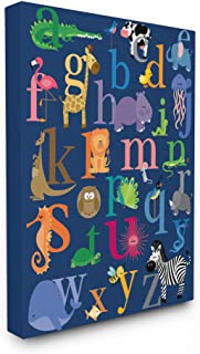 Best animal alphabet canvas Reviews