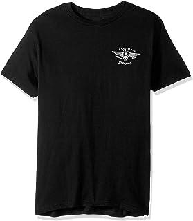 OBEY Mens 165361546 No Remorse No Regrets Regular Fit Premium T-Shirt Short_Sleeve T-Shirt - Gray