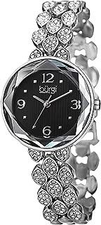 Burgi Women's Classic Analogue Display Japanese Quartz Watch with Alloy Bracelet