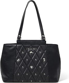 Braccialini Borsa shopping nera linea icons B13282