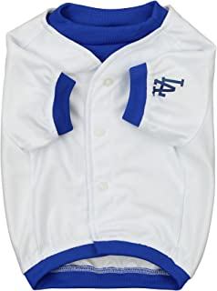 Sporty K9 MLB Baseball Dog Jersey, Los Angeles Dodgers Small