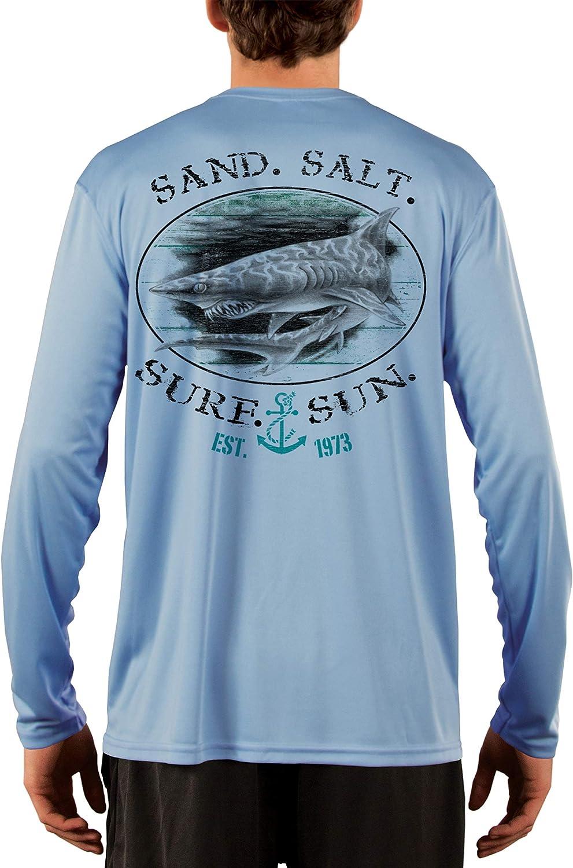 SAND.SALT.SURF.SUN. Shark Men's Opening large release sale UPF 50+ Sun Perfor Protection Max 52% OFF UV
