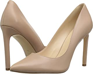 Collection Here Kiiara Suede Pointed Pumps Womens Natural