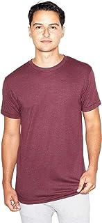 American Apparel Men's Blend Crewneck Short Sleeve Track T-Shirt, 2-Pack