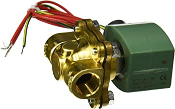 ASCO 8222G094 -120/60,110/50 Brass Body Hot Water and Steam Pilot Operated Diaphragm and Piston Valve, 1/2