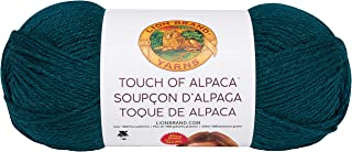 Lion Brand Yarn 124-178 Touch of Alpaca Bonus Bundle Yarn, Jade