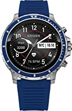 Citizen CZ Smart Stainless Steel Smartwatch Touchscreen, Heartrate, GPS, Speaker, Bluetooth, Notifications, iPhone and And...