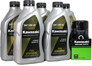 2012 Kawsaki CONCOURS 14 ABS Full Synthetic Oil Change Kit