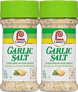 Lawry's Garlic Salt, 6 oz, 2 pk