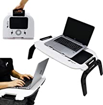 Sunny Gx Foldable Laptop Table - Multifunction Can Be used on Bed, Desk Stand, Table, Sofa, Couch Wood & Most Importantly ...