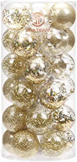 Best gold christmas ornaments balls Reviews