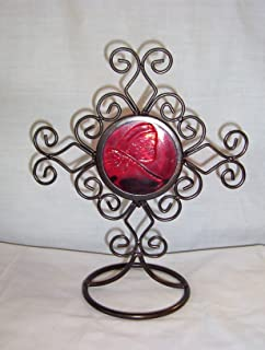 Red Dragonfly Candle Holder 241