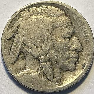 1915 P Buffalo Nickel G Condition Good Detials