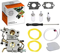 Podoy P3314 Carburetor for Poulan Chainsaw Parts PP4218A Air Fuel Filter with Adjustment Tool Tune-up Kit for P3416 P3816 P4018 PP3416 PP3516 PP3816 PP4018 PP4218 PPB3416 PPB4018 PPB4218 545070601