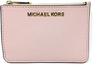 287523b8b8e8 Michael Kors Jet Set Travel Small Top Zip Coin Pouch with ID Holder Saffiano  Leather -