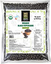 Greenroots USDA Organic Tellicherry Peppercorn (Whole)-Black Tellicherry, 16 Oz, 1 Lb