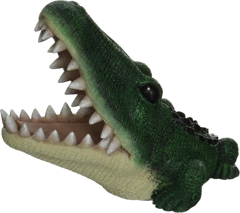 PennPlax Alligator Aquarium Resin Ornament