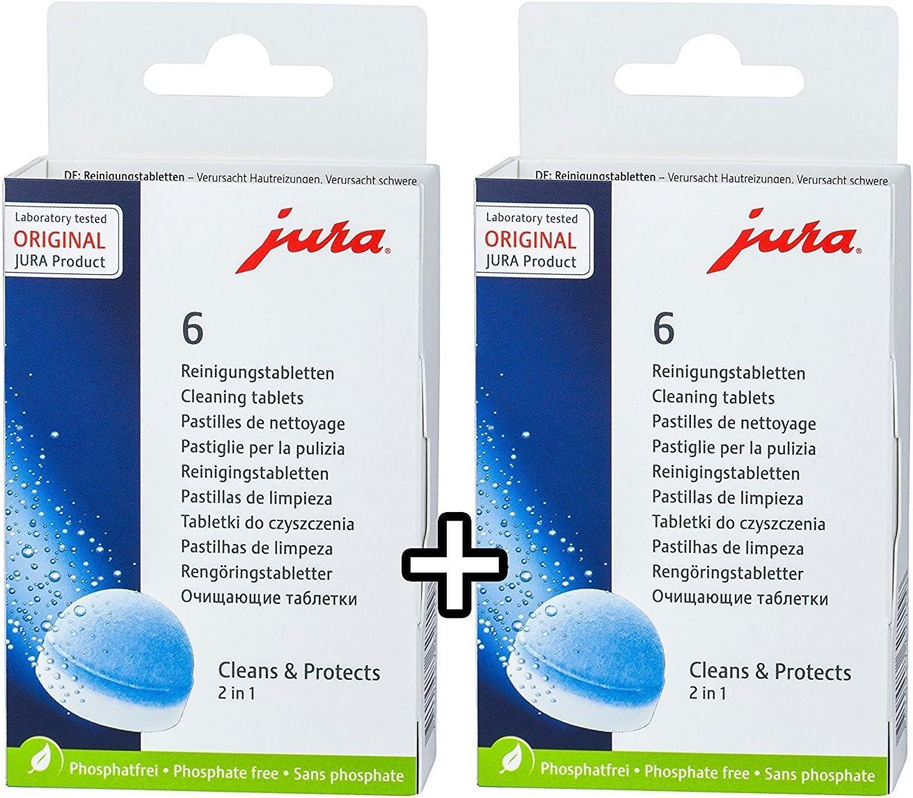 2 x Jura 62715 6 pastillas de limpieza